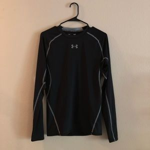 UA Black Long Sleeve Compression Shirt